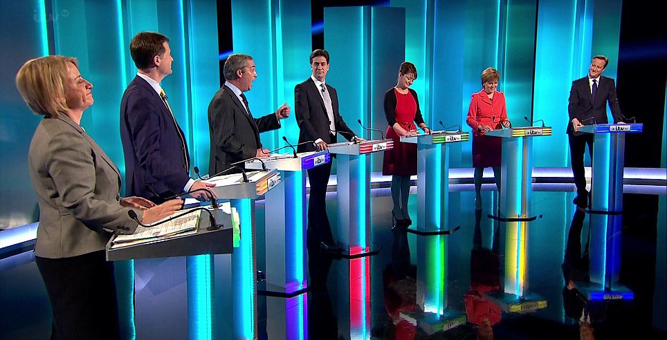 Election Leaders Debate  2015