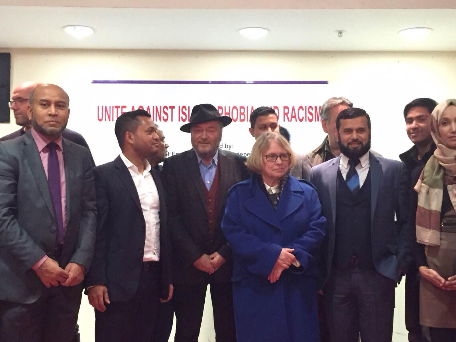Unite against Islamophobia and Fascism