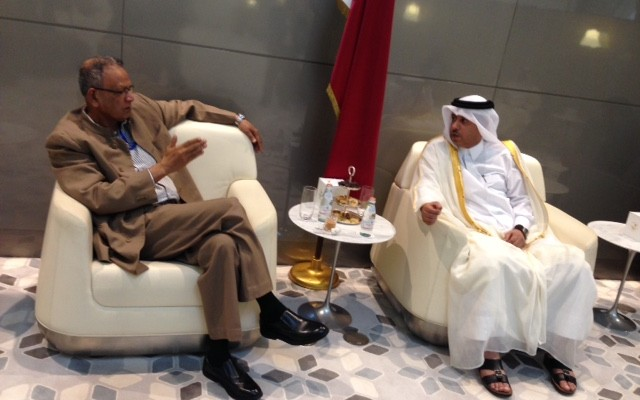Qatar+minister+visit