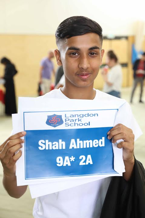 GCSE Results at Langdon Park School.