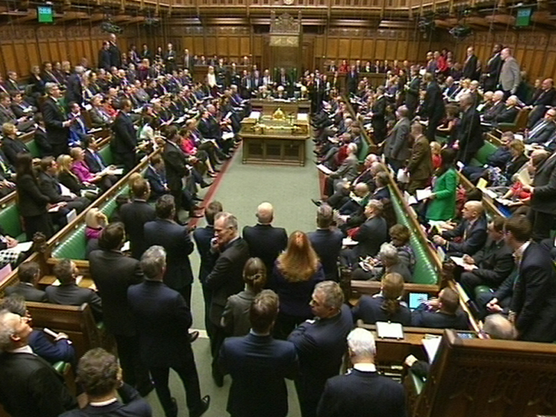 A general view of parliament during Prime Minister's Questions in the House of Commons, London.. Picture date: Wednesday December 16, 2015. See PA story POLITICS PMQs. Photo credit should read: PA Wire