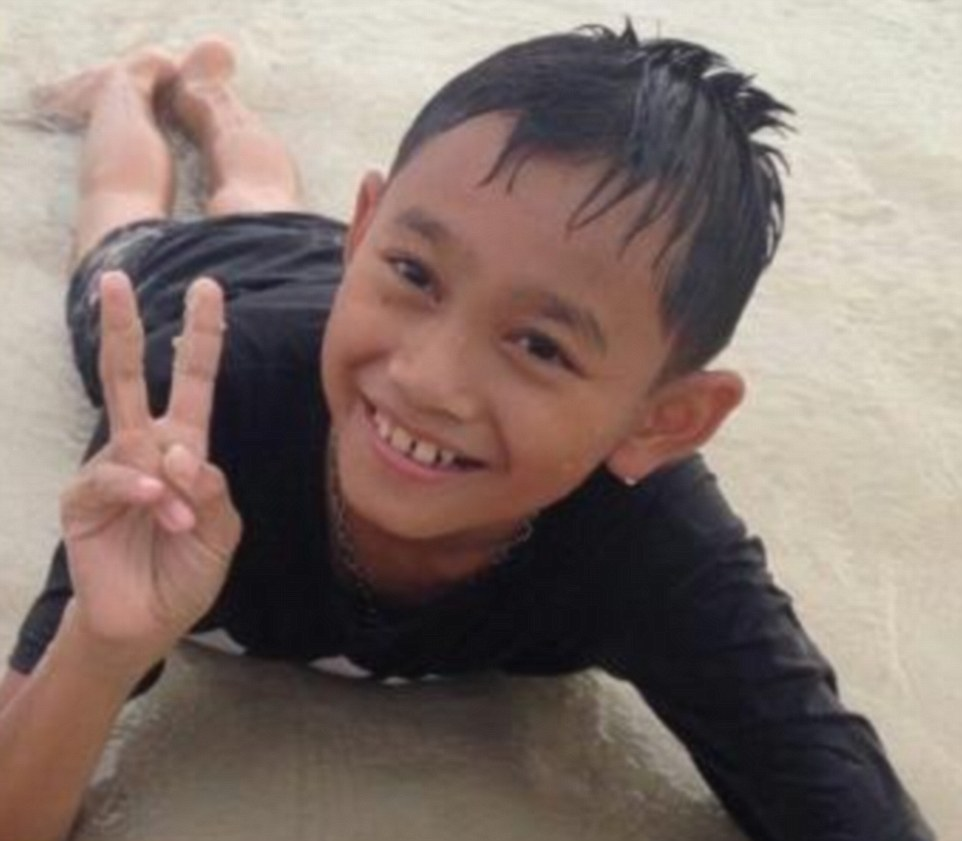 Nattawut 'Tle' Takamsai, 11, is thought to be among the four boys rescued, according to an official quoted in the Daily Beast