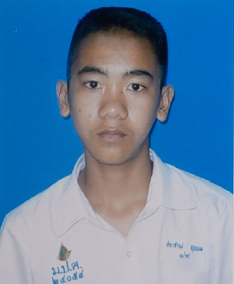 Collect photo of Prajak Sutham, 14. Mr Sutham is one of 12 footballers still trapped inside a flooded cave in the Tham Luang Forest Park.